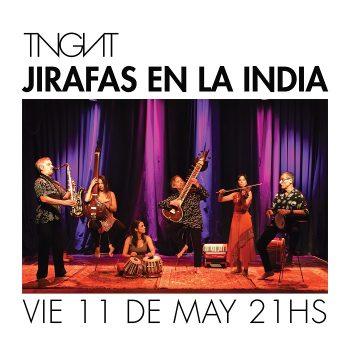 JIRAFAS EN LA INDIA