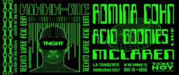 KIXXX ME: ROMINA COHN + MAY MC LAREN + ACID GOONIES (LIVE)