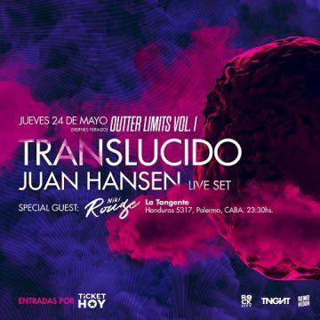 TRANSLÚCIDO + JUAN HANSEN
